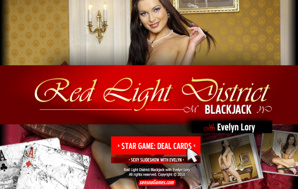 Red Light District Blackjack with Evelyn