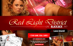 Red Light District Blackjack with Laura