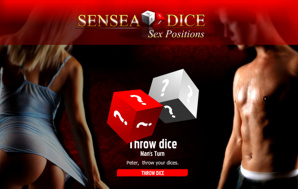Sensea Dice: Sex Position